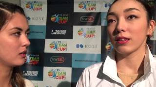 Japan's Rika Hongo (本郷理華) talks about choreographers for her ro...