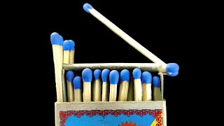 Three Simple Matches Tricks. How To Make A Firework Of Matches? The Best Matches Tricks