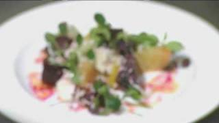 How To Make London Syon Park's Baby Beetroot Salad With Stilton And Grated Horseradish