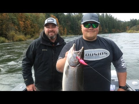 Washington & Oregon Small River Salmon Fishing