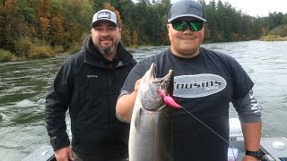washington oregon small river salmon fishing