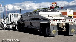 VANDERBILT MINERALS TRUCK w/ LOAD KING TRAILER ~ TRUCKING