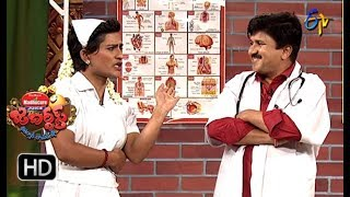 Rocket Raghava Performance | Jabardasth |  16th August 2018 | ETV  Telugu