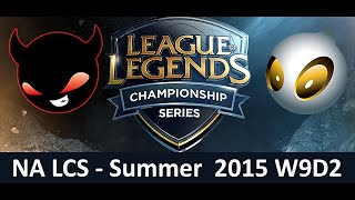 NME vs DIG NA LCS Championship series Summer Split 2015 W9D2 Enemy Esports vs Team Dignitas game Hig