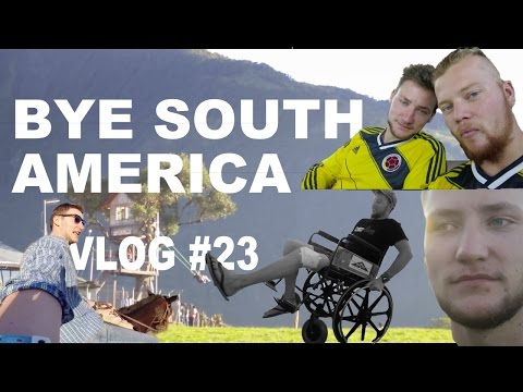 TRAVEL VLOG #23 - Leaving South America