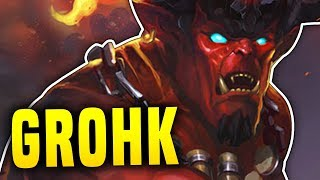 GROHK IS BACK BABY!! | Paladins Grohk Gameplay & Build