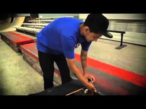 How To Kickflip Backside Tailslide With Chaz Ortiz