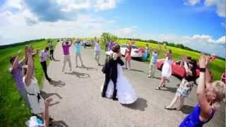 Супер танцевальная свадьба! Гости жгут! Смотреть всем!