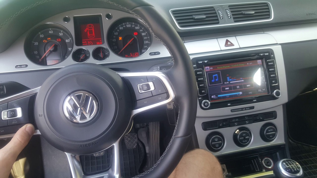 Golf Mk7 Steering Wheel Controls Made Functional On Pat B6