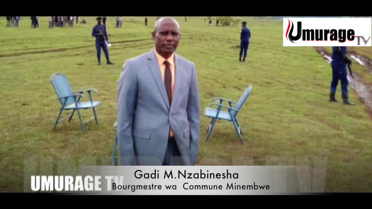 Download BOURGMESTRE GADI MUKIZA YAVUZE  KUNGAMBA ZAFASHWE MUKWIRINDA CORONA,YAVUZE NO KUMISHIKIRANO YOGUHAGA