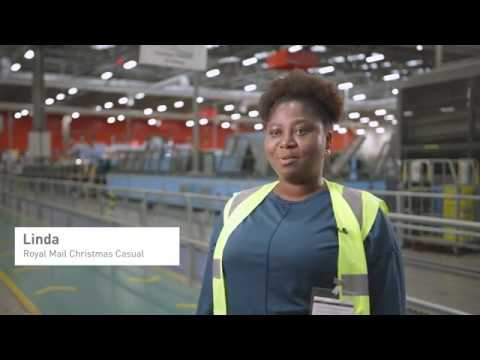 Royal Mail Christmas Temporary Workers Profile - Linda