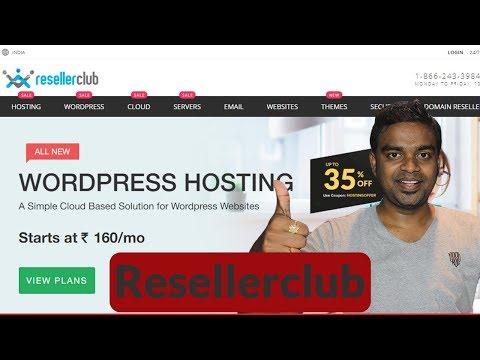 Cheap WordPress Hosting - How to select best Wordpress Hosting in India -   ResellerClub