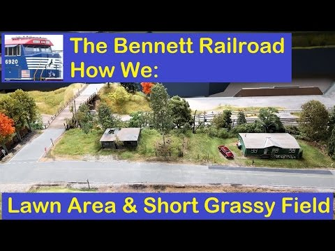 """Bennett RR """"How We"""": Lawn and Short Grassy Field"""