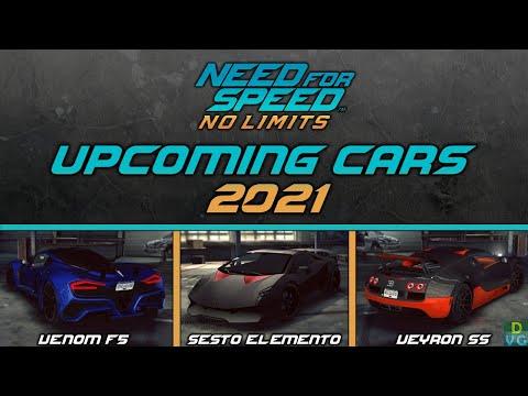 NFS No Limits | Upcoming Cars 2021 – Venom F5, Sesto Elemento & more
