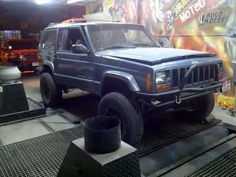 LS1 v8 Jeep Cherokee XJ - YouTube