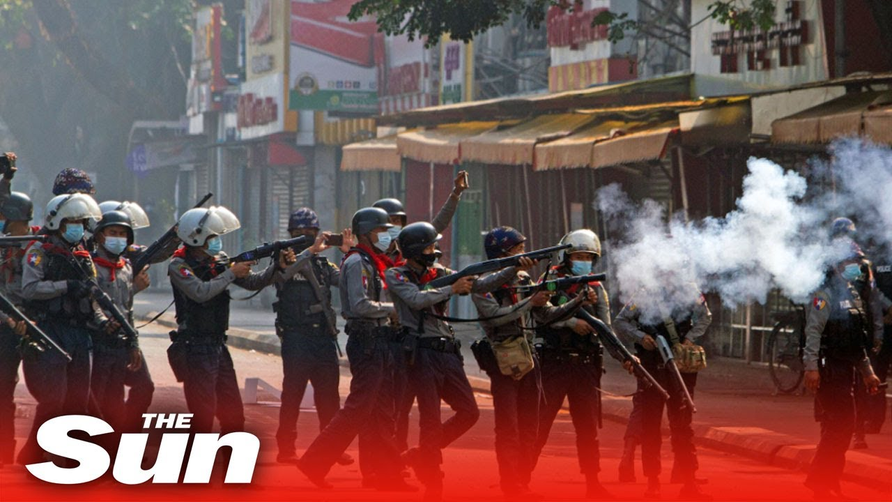 Myanmar police and military kill at least 18 people after opening fire ...