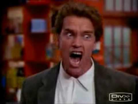 Schwarzenegger Screams in Kindergarten Cop