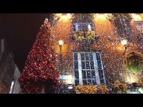 CHRISTMAS LIGHTS in Dublin,Ireland 2019