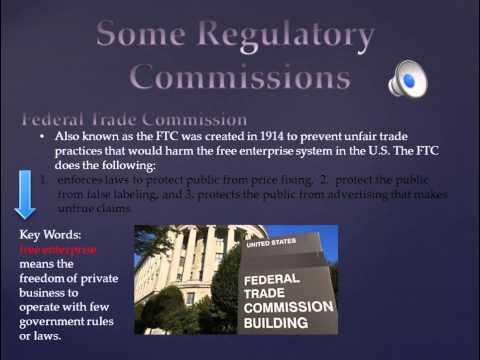 US GOVT CHPT 7 Independent Agencies