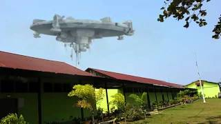SMK YPTK RIGOMASI - Heboh ada Pesawat Alien di SMK Rigomasi