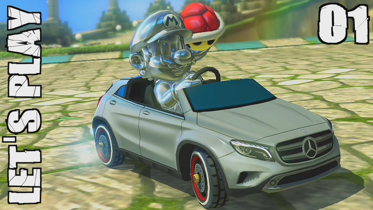 mario kart 8 deluxe fr 01 grand prix coupe champignon 50cc let 39 s play switch youtube. Black Bedroom Furniture Sets. Home Design Ideas