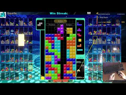 "Tetris 99 Bounty - ""Win With Only T-Spins And Tetrises"""