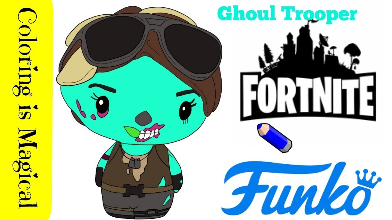 Ghoul Trooper Fortnite Coloring Page - Free V Bucks Code ...