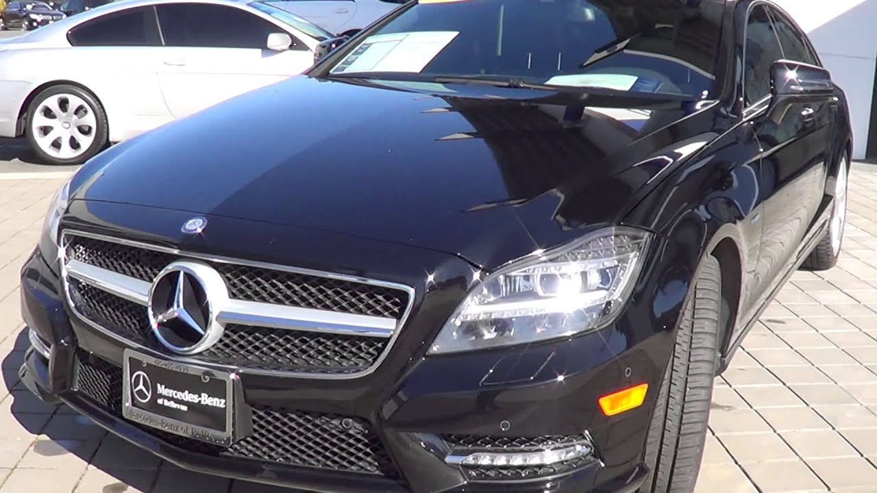 2012 CLS550 with Evan at Mercedes Benz of Bellevue