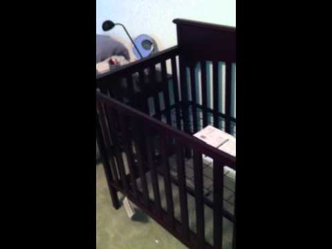 Amazon Baby crib & changing table assembly video in Bethesda MD by Furniture assembly experts LLC