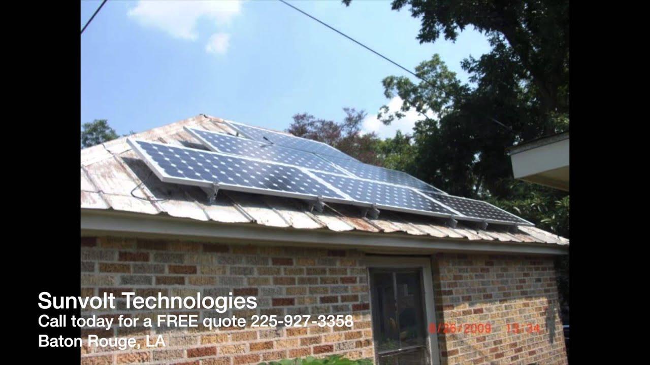 Sunvolt Technologies Solar In Baton Rouge