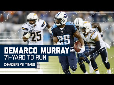 DeMarco Murray Breaks Amazing 71-Yard TD Run! (Preseason) | Chargers vs. Titans | NFL