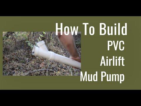 DIY Airlift Mud Pump (Experimental)