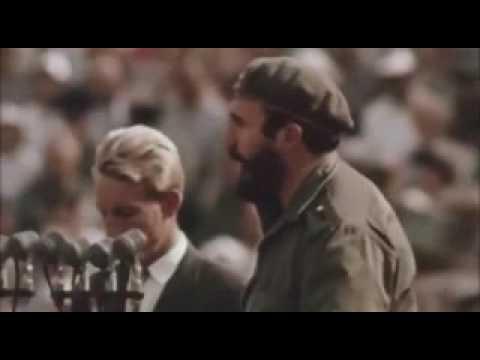 Visita de Fidel à URSS - 1963