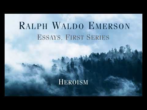 Thesis Example For Compare And Contrast Essay Ralph Waldo Emerson  Essays First Series Heroism Narrative Essay Sample Papers also Analysis And Synthesis Essay Ralph Waldo Emerson  Essays First Series Heroism  Youtube Essay Topics High School