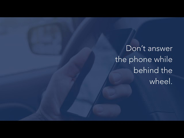 National Distracted Driving Awareness Month