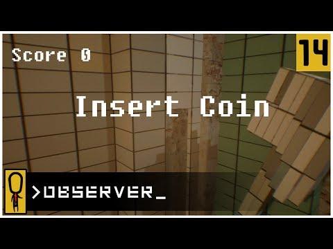 👁 MINECRAFT TETRIS DOOM 👁 - OBSERVER Gameplay Ep 14 - Let's Play OBSERVER Walkthrough