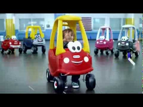 TV Commercial - Little Tikes - Cozy Coupe - Best Selling Vehicle In America Since 1979