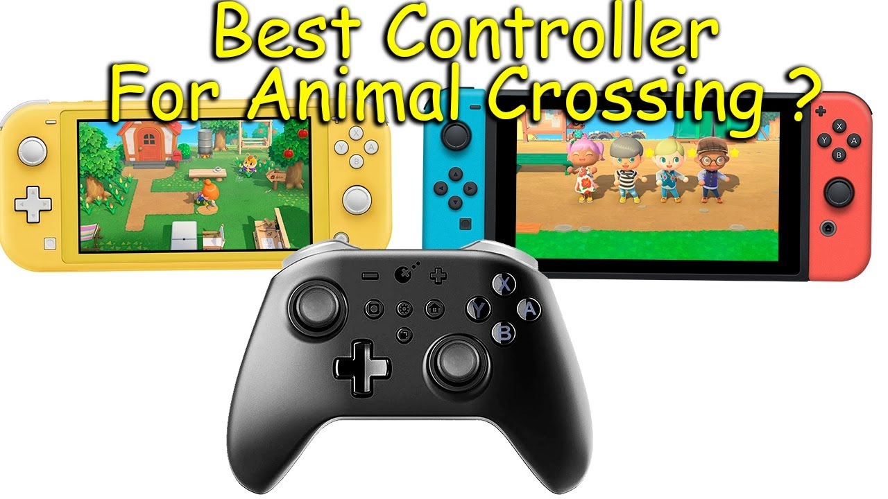 Animal Crossing New Horizons Gameplay on Switch LITE using KingKong Wireless Pro Controller