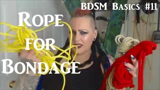 🎀 Best Rope 🌟 for Bondage and Shibari - BDSM Basics #11