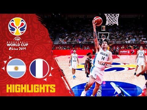 Argentina v France - Full Game Highlights - Semi-Final - FIBA Basketball World Cup 2019