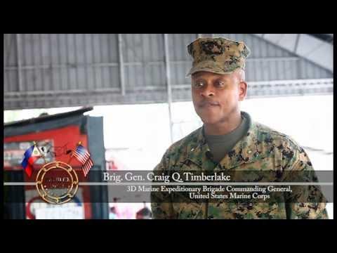 Brigadier General Timberlake's interview during PHIBLEX 2012