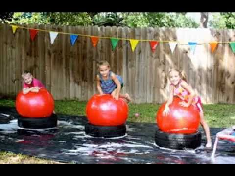 Diy Kids Party Games Decorating Ideas Youtube