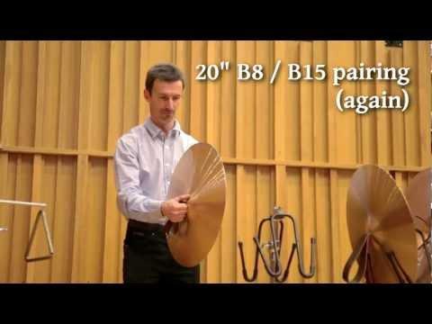 Prototype Symphonic Hand Cymbals