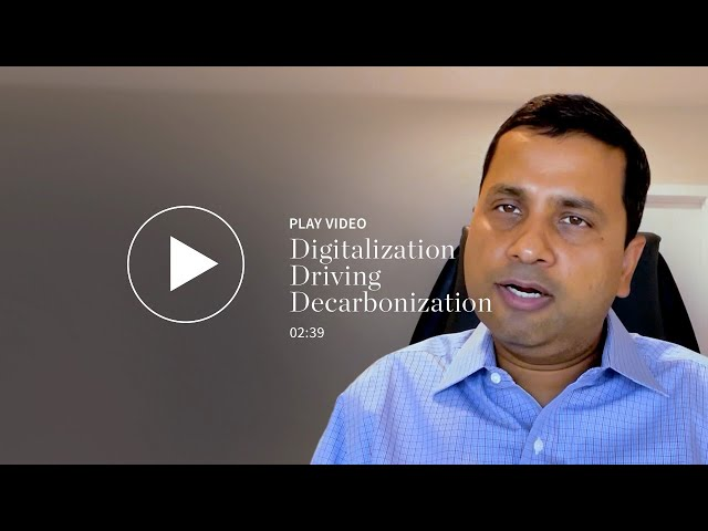 Digitalization Driving Decarbonization