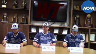 2018 NCAA Baseball South Central Regionals: Colorado School of Mines Press Conference (5-19-18)
