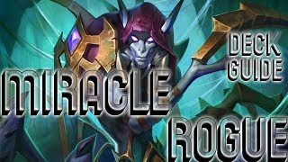 MIRACLE ROGUE DECK GUIDE | HEARTHSTONE ROMANIA