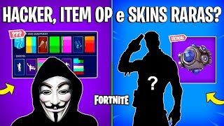 FORTNITE-FAKE HACKER, RARE SKINS COMING BACK and GRENADE OP?