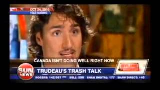 Justin Trudeau   Canada belongs to Quebec