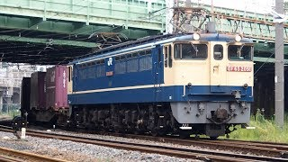 2019/08/20 JR貨物 遅2080レ EF65-2091 田端信号場 | JR Freight: Cargo by EF65-2091 at Tabata
