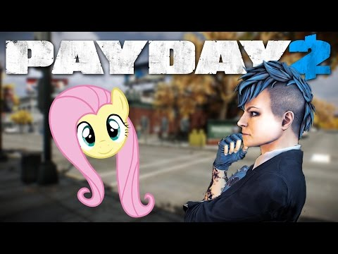 Fluttershy Sydney is SWEET! (Payday 2 voice mod)